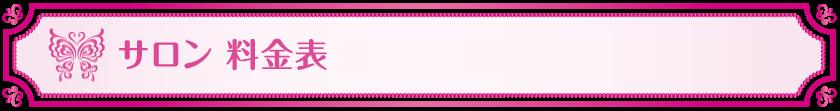 サロン-料金表_Vivienne Waxing【大阪・南堀江】ブラジリアンワックス 心斎橋 難波 ヴィヴィアン